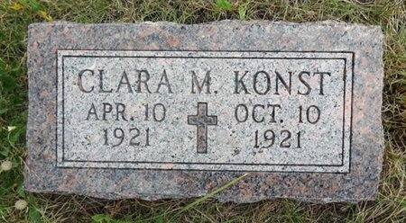 KONST, CLARA - Haakon County, South Dakota | CLARA KONST - South Dakota Gravestone Photos