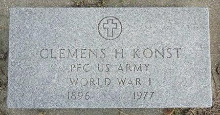 KONST, CLEMENS - Haakon County, South Dakota | CLEMENS KONST - South Dakota Gravestone Photos