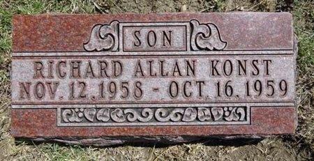 KONST, RICHARD - Haakon County, South Dakota | RICHARD KONST - South Dakota Gravestone Photos