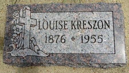 KRESZON, LOUISE - Haakon County, South Dakota | LOUISE KRESZON - South Dakota Gravestone Photos