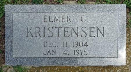 KRISTENSEN, ELMER - Haakon County, South Dakota | ELMER KRISTENSEN - South Dakota Gravestone Photos