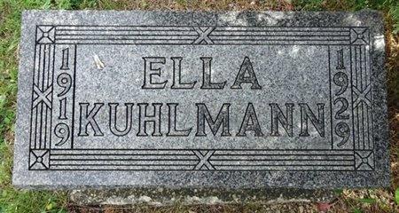 KUHLMANN, ELLA - Haakon County, South Dakota   ELLA KUHLMANN - South Dakota Gravestone Photos