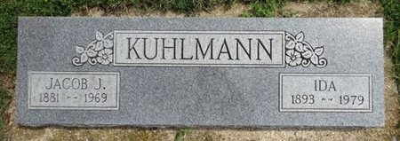 KULHMANN, IDA - Haakon County, South Dakota | IDA KULHMANN - South Dakota Gravestone Photos