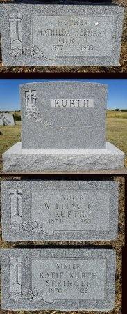 KURTH, WILLIAM - Haakon County, South Dakota | WILLIAM KURTH - South Dakota Gravestone Photos