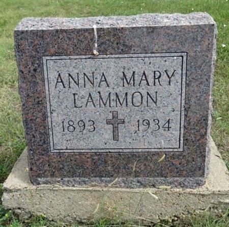 LAMMON, ANNA - Haakon County, South Dakota | ANNA LAMMON - South Dakota Gravestone Photos