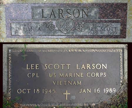 ZENTNER LARSON, DARLYN - Haakon County, South Dakota | DARLYN ZENTNER LARSON - South Dakota Gravestone Photos