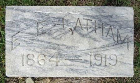 LATHAM, E.E. - Haakon County, South Dakota | E.E. LATHAM - South Dakota Gravestone Photos