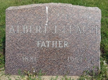LEACH, ALBERT - Haakon County, South Dakota | ALBERT LEACH - South Dakota Gravestone Photos