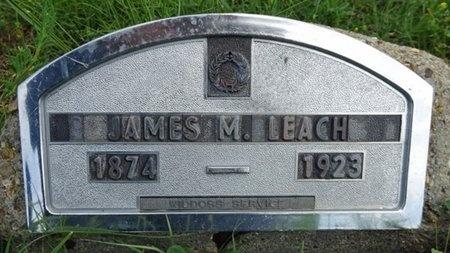 LEACH, JAMES - Haakon County, South Dakota | JAMES LEACH - South Dakota Gravestone Photos