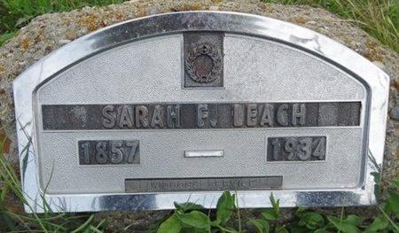 LEACH, SARAH - Haakon County, South Dakota | SARAH LEACH - South Dakota Gravestone Photos