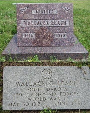 LEACH, WALLACE - Haakon County, South Dakota   WALLACE LEACH - South Dakota Gravestone Photos