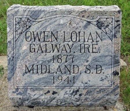 LOHAN, OWEN - Haakon County, South Dakota | OWEN LOHAN - South Dakota Gravestone Photos