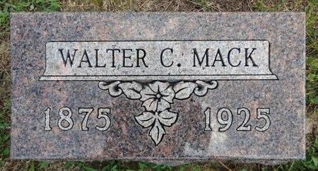 MACK, WALTER - Haakon County, South Dakota | WALTER MACK - South Dakota Gravestone Photos