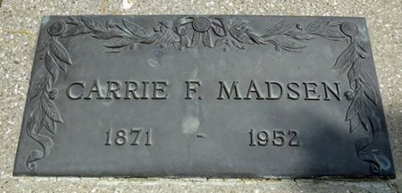 MADSEN, CARRIE - Haakon County, South Dakota | CARRIE MADSEN - South Dakota Gravestone Photos