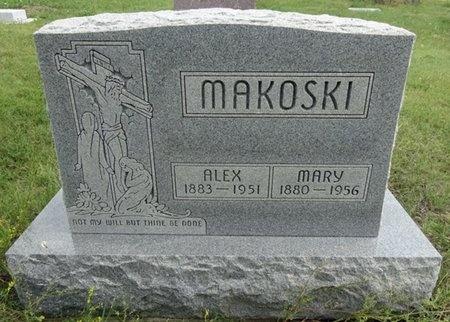 MAKOSKI, ALEX - Haakon County, South Dakota | ALEX MAKOSKI - South Dakota Gravestone Photos