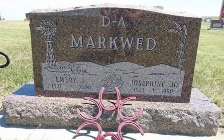MARKWED, EMERY - Haakon County, South Dakota | EMERY MARKWED - South Dakota Gravestone Photos