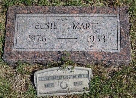 MARKWED, ELSIE - Haakon County, South Dakota | ELSIE MARKWED - South Dakota Gravestone Photos