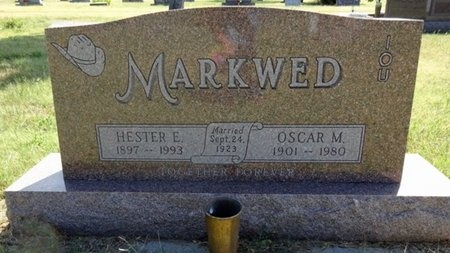 MARKWED, OSCAR - Haakon County, South Dakota | OSCAR MARKWED - South Dakota Gravestone Photos