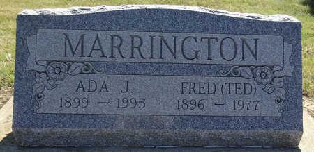 MARRINGTON, FRED - Haakon County, South Dakota | FRED MARRINGTON - South Dakota Gravestone Photos
