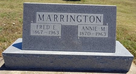 MARRINGTON, ANNIE - Haakon County, South Dakota | ANNIE MARRINGTON - South Dakota Gravestone Photos