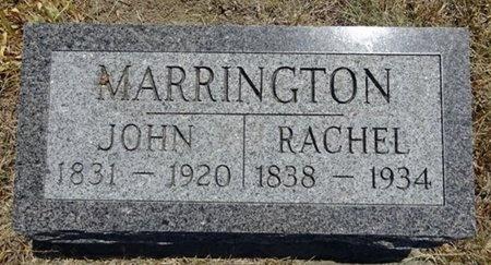 MARRINGTON, JOHN - Haakon County, South Dakota | JOHN MARRINGTON - South Dakota Gravestone Photos