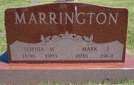 MARRINGTON, MARK - Haakon County, South Dakota | MARK MARRINGTON - South Dakota Gravestone Photos