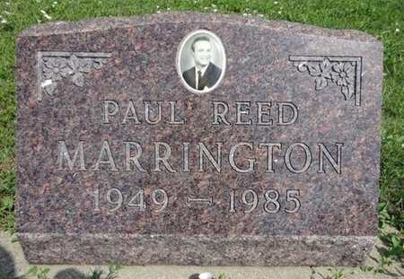 MARRINGTON, PAUL - Haakon County, South Dakota | PAUL MARRINGTON - South Dakota Gravestone Photos