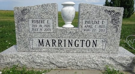 PETOSKE MARRINGTON, PAULINE - Haakon County, South Dakota | PAULINE PETOSKE MARRINGTON - South Dakota Gravestone Photos