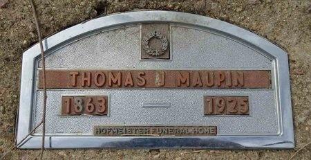 MAUPIN, THOMAS - Haakon County, South Dakota | THOMAS MAUPIN - South Dakota Gravestone Photos