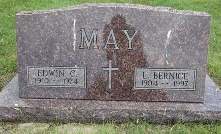 MAY, L. BERNICE - Haakon County, South Dakota | L. BERNICE MAY - South Dakota Gravestone Photos