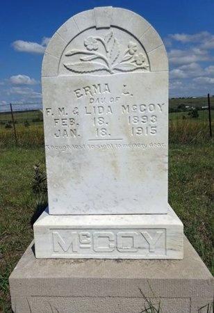 MCCOY, ERMA - Haakon County, South Dakota | ERMA MCCOY - South Dakota Gravestone Photos