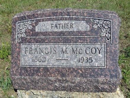 MCCOY, FRANCIS - Haakon County, South Dakota | FRANCIS MCCOY - South Dakota Gravestone Photos