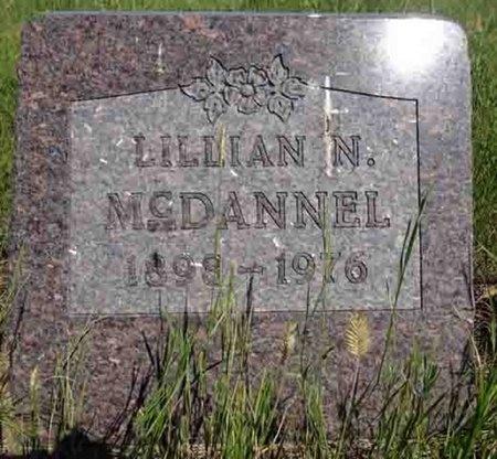 PETERSON MCDANNEL, LILLIAN - Haakon County, South Dakota   LILLIAN PETERSON MCDANNEL - South Dakota Gravestone Photos
