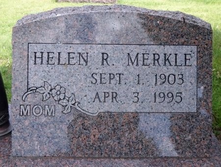 MERKLE, HELEN - Haakon County, South Dakota | HELEN MERKLE - South Dakota Gravestone Photos