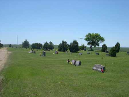 *MIDLAND CEMETERY, VIEW OF - Haakon County, South Dakota | VIEW OF *MIDLAND CEMETERY - South Dakota Gravestone Photos