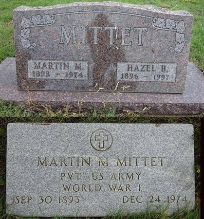 JONES MITTET, HAZEL - Haakon County, South Dakota | HAZEL JONES MITTET - South Dakota Gravestone Photos