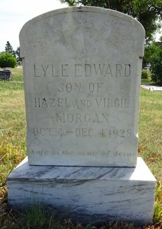 MORGAN, LYLE - Haakon County, South Dakota | LYLE MORGAN - South Dakota Gravestone Photos