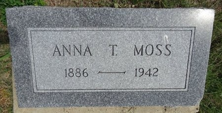 MOSS, ANNA - Haakon County, South Dakota   ANNA MOSS - South Dakota Gravestone Photos