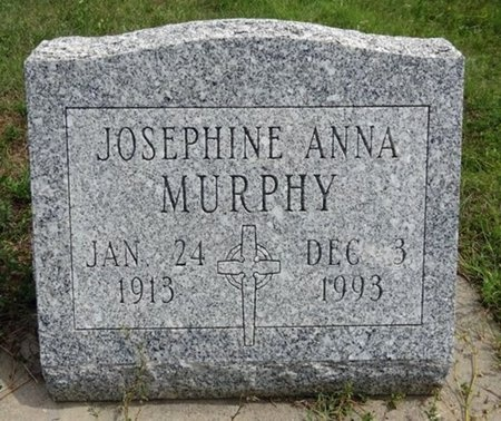 MURPHY, JOSEPHINE - Haakon County, South Dakota | JOSEPHINE MURPHY - South Dakota Gravestone Photos