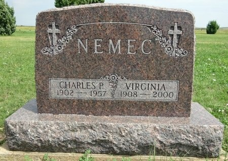 NEMEC, CHARLES - Haakon County, South Dakota | CHARLES NEMEC - South Dakota Gravestone Photos