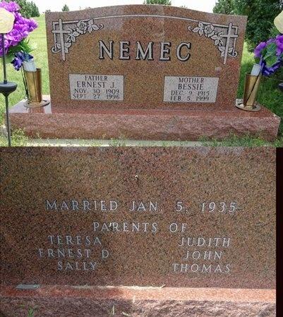 NEMEC, ERNEST - Haakon County, South Dakota | ERNEST NEMEC - South Dakota Gravestone Photos