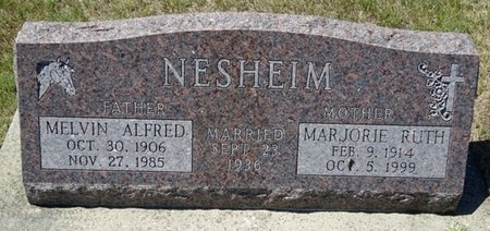 NESHEIM, MELVIN - Haakon County, South Dakota | MELVIN NESHEIM - South Dakota Gravestone Photos