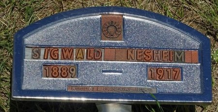 NESHEIM, SIGWALD - Haakon County, South Dakota | SIGWALD NESHEIM - South Dakota Gravestone Photos
