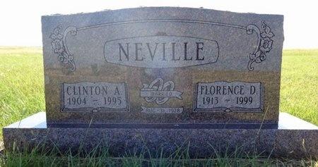 NEVILLE, CLINTON - Haakon County, South Dakota | CLINTON NEVILLE - South Dakota Gravestone Photos
