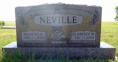 O'NEILL NEVILLE, FRANCES - Haakon County, South Dakota | FRANCES O'NEILL NEVILLE - South Dakota Gravestone Photos