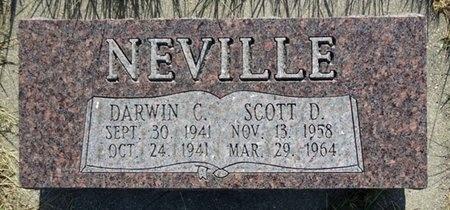 NEVILLE, DARWIN - Haakon County, South Dakota   DARWIN NEVILLE - South Dakota Gravestone Photos