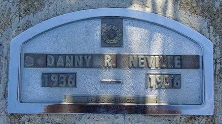NEVILLE, DANNY - Haakon County, South Dakota | DANNY NEVILLE - South Dakota Gravestone Photos