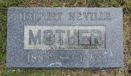 NEVILLE, HARRIET - Haakon County, South Dakota | HARRIET NEVILLE - South Dakota Gravestone Photos