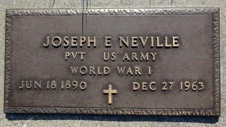 NEVILLE, JOSEPH - Haakon County, South Dakota   JOSEPH NEVILLE - South Dakota Gravestone Photos