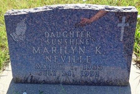 NEVILLE, MARILYN - Haakon County, South Dakota | MARILYN NEVILLE - South Dakota Gravestone Photos